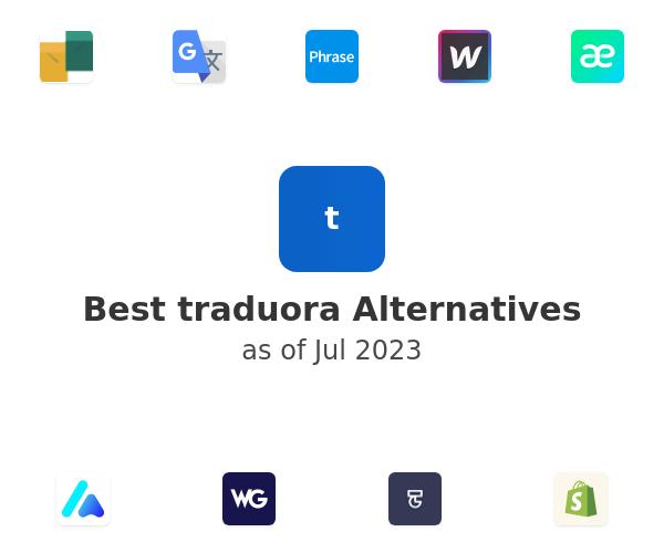 Best traduora Alternatives