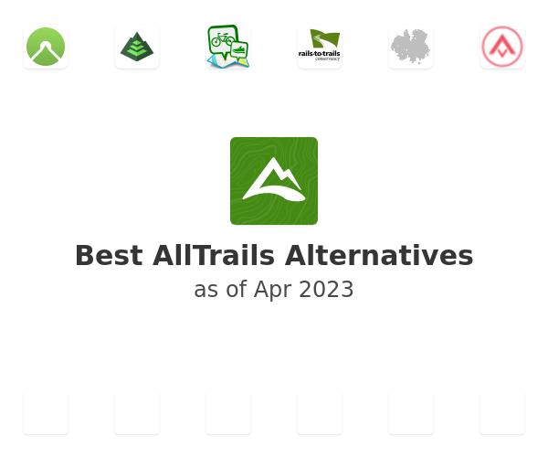 Best AllTrails Alternatives