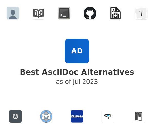 Best AsciiDoc Alternatives