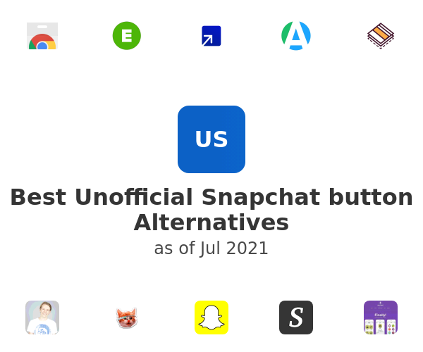 Best Unofficial Snapchat button Alternatives