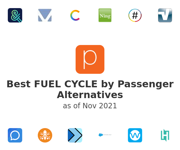 Best FUEL CYCLE by Passenger Alternatives