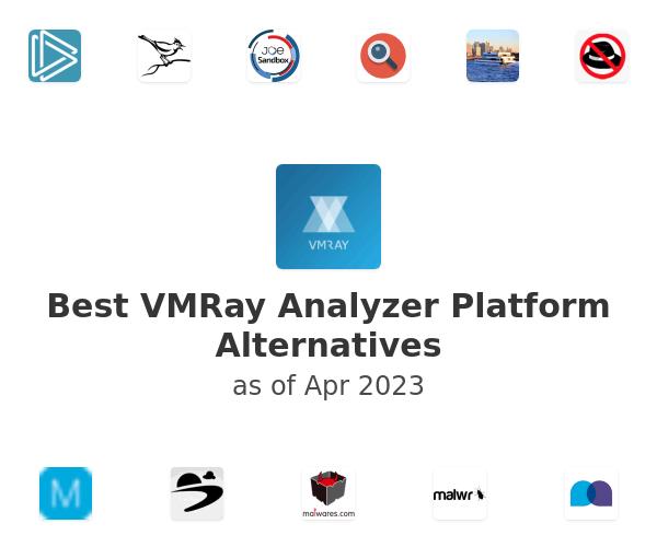 Best VMRay Analyzer Platform Alternatives