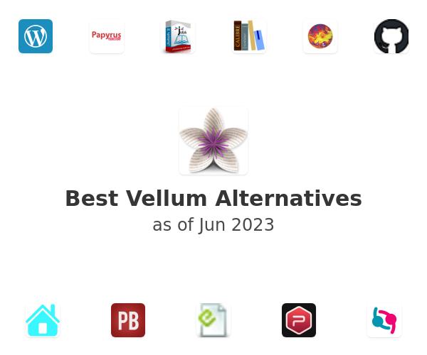 Best Vellum Alternatives