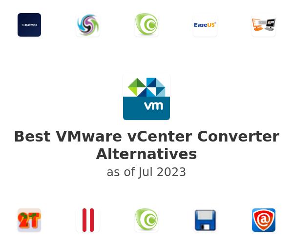 Best VMware vCenter Converter Alternatives