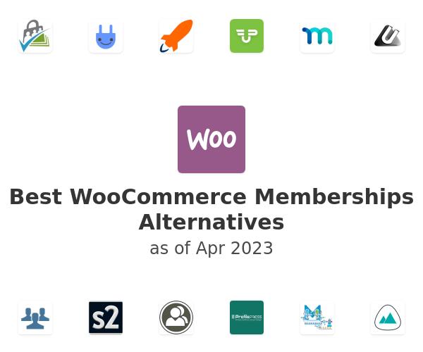 Best WooCommerce Memberships Alternatives