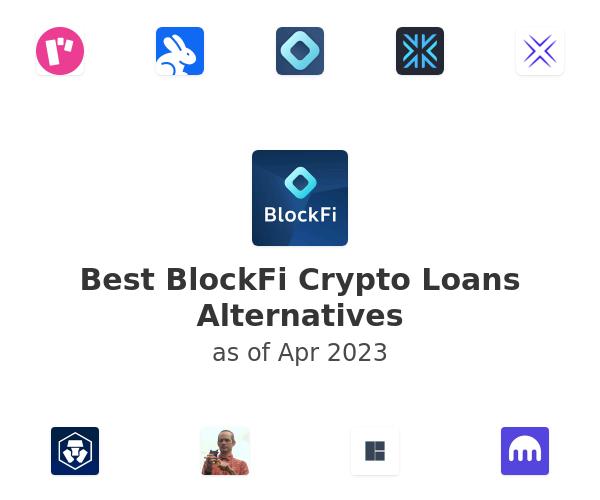 Best BlockFi Crypto Loans Alternatives
