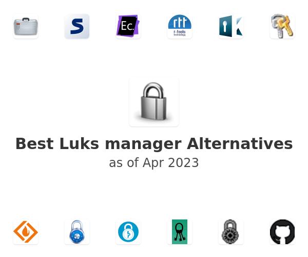 Best Luks manager Alternatives