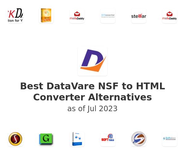 Best DataVare NSF to HTML Converter Alternatives