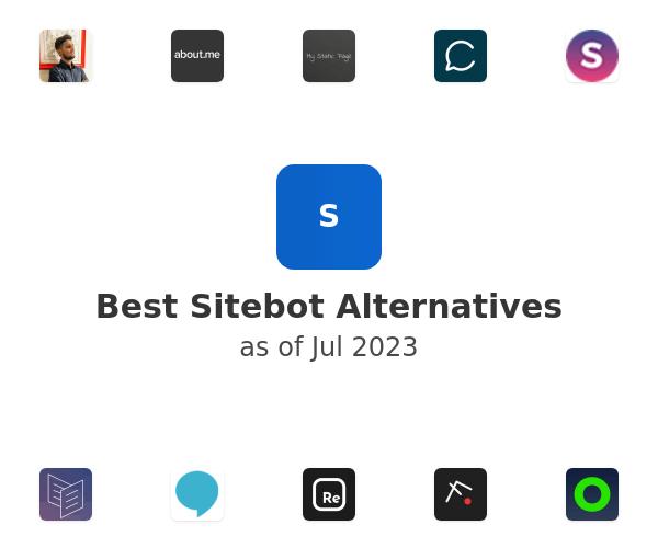 Best Sitebot Alternatives