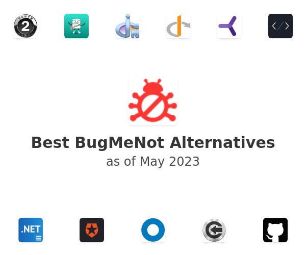 Best BugMeNot Alternatives