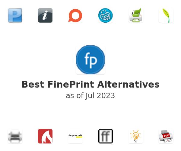 Best FinePrint Alternatives