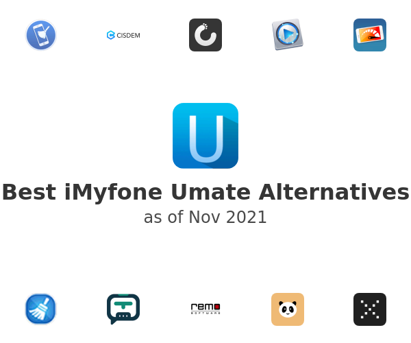 Best iMyfone Umate Alternatives