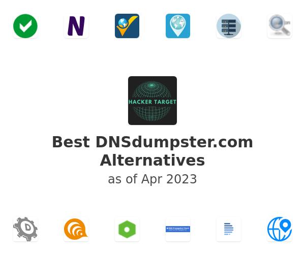 Best DNSdumpster.com Alternatives