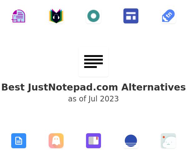 Best JustNotepad.com Alternatives