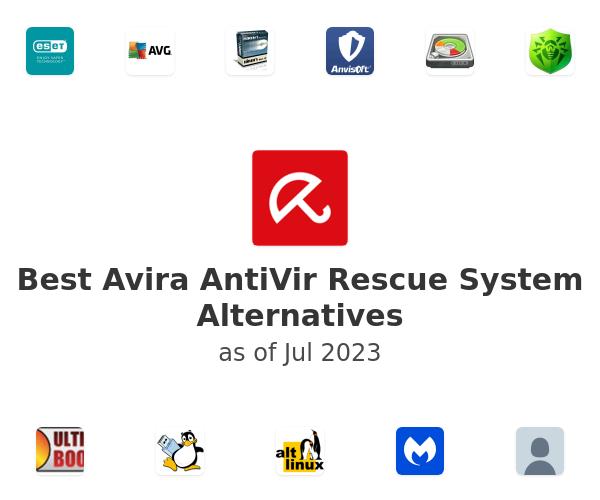 Best Avira AntiVir Rescue System Alternatives