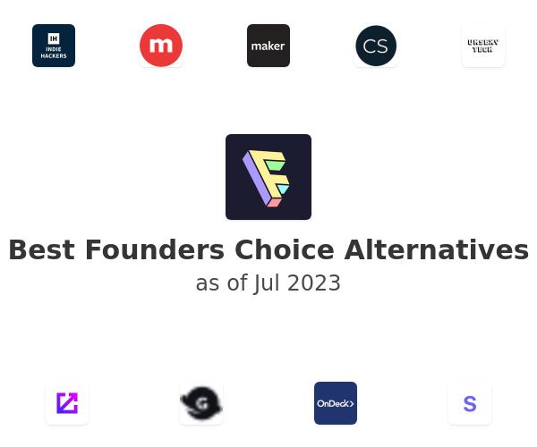 Best Founders Choice Alternatives