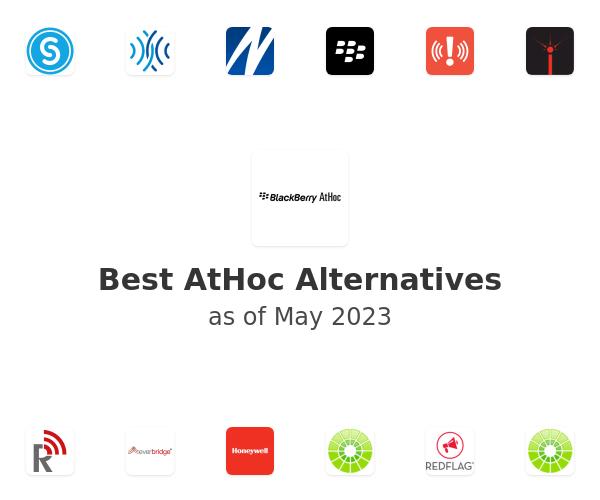 Best AtHoc Alternatives