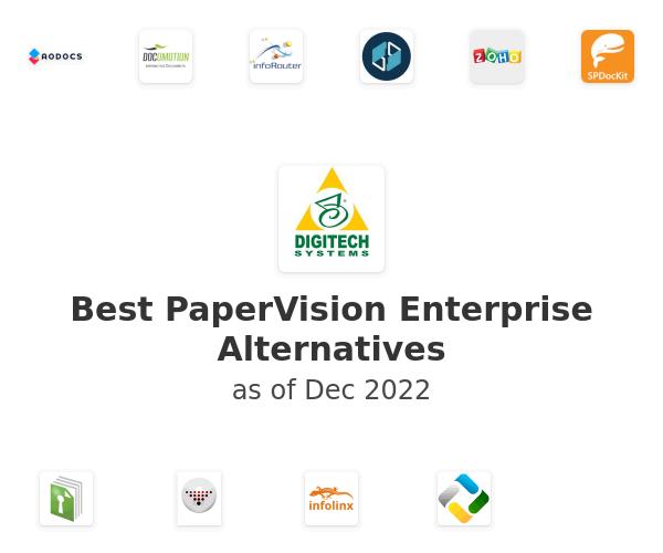 Best PaperVision Enterprise Alternatives
