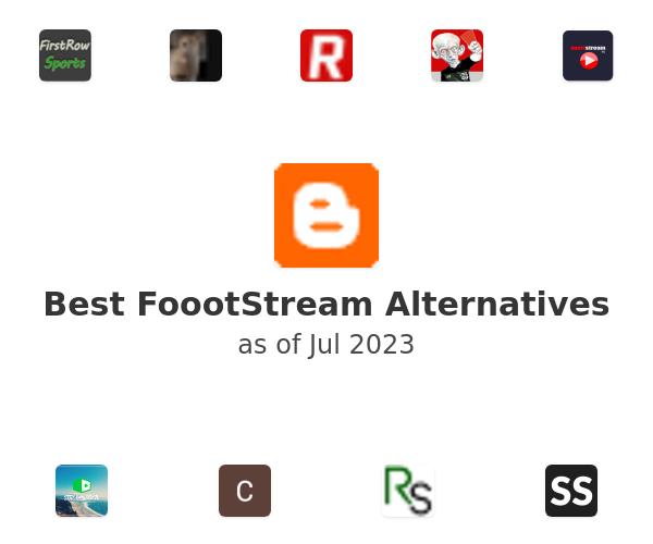 Best FoootStream Alternatives