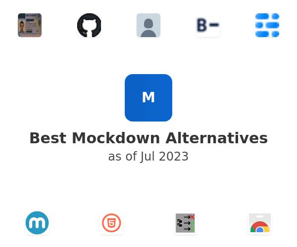 Best Mockdown Alternatives