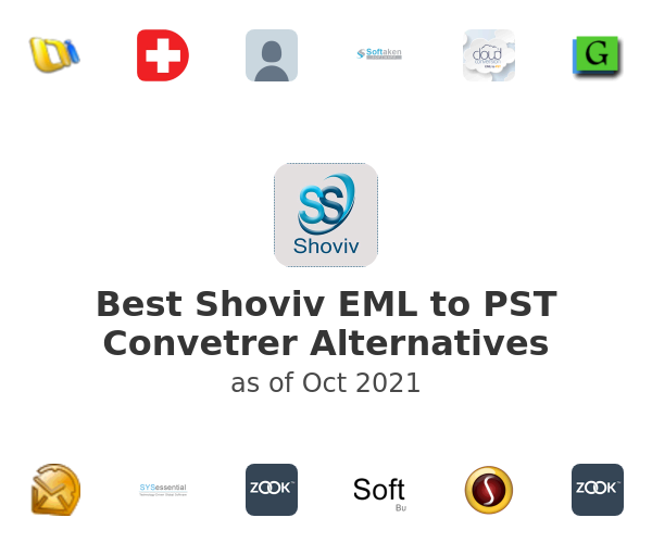 Best Shoviv EML to PST Convetrer Alternatives