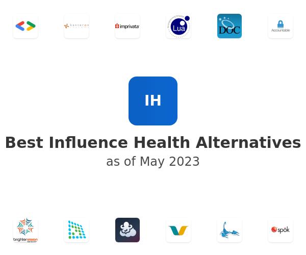 Best Influence Health Alternatives