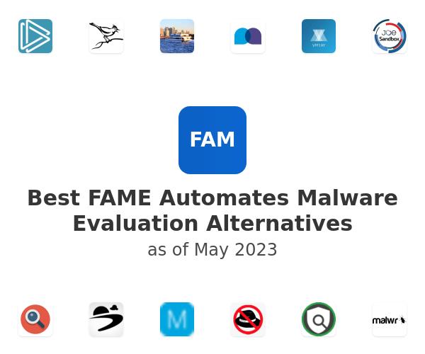 Best FAME Automates Malware Evaluation Alternatives
