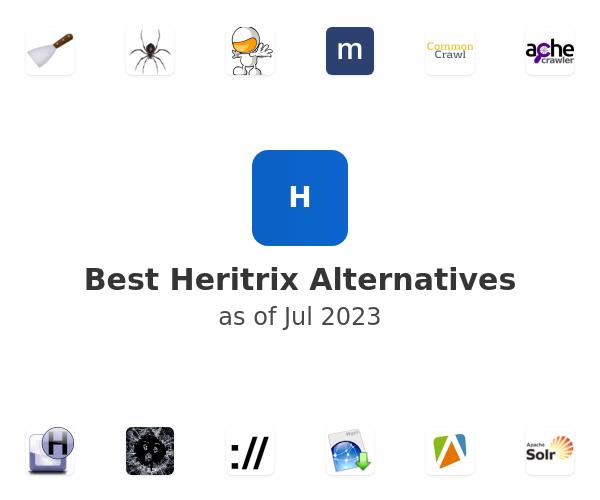 Best Heritrix Alternatives