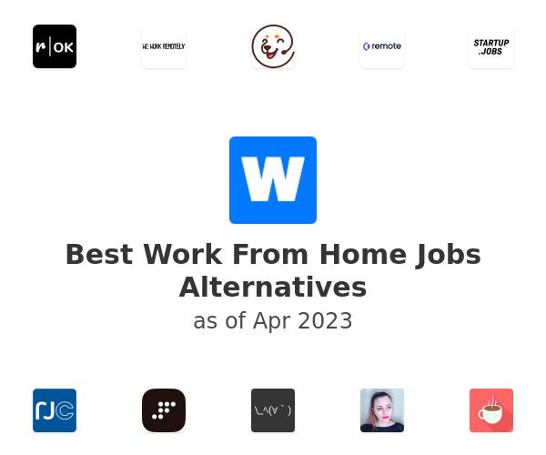 Best Work From Home Jobs Alternatives
