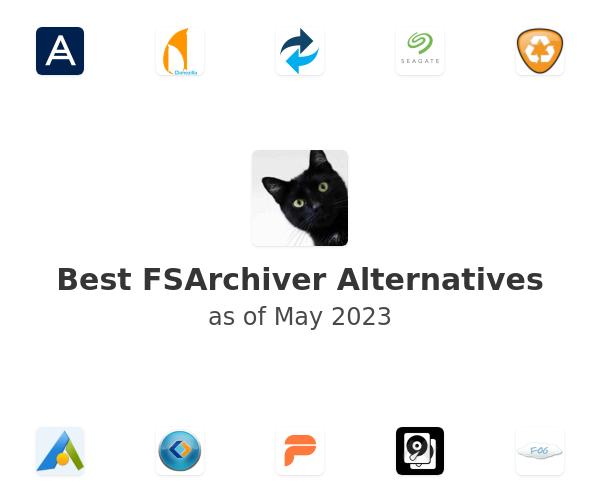 Best FSArchiver Alternatives