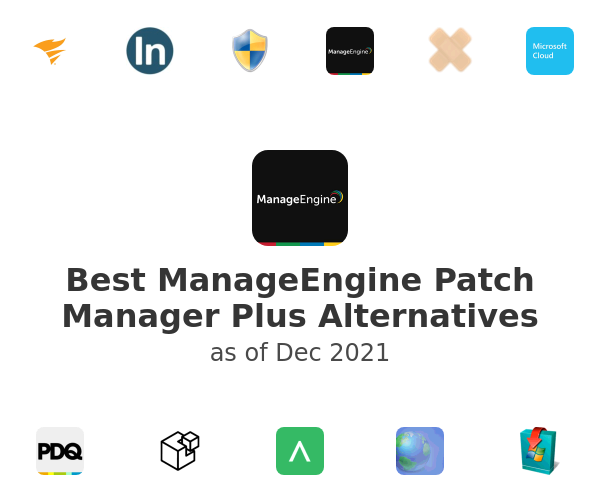 Best ManageEngine Patch Manager Plus Alternatives