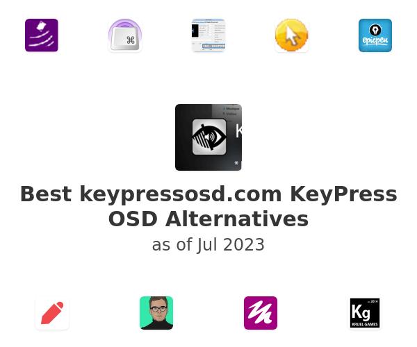 Best KeyPress OSD Alternatives