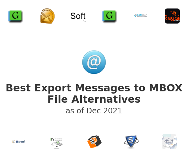 Best Export Messages to MBOX File Alternatives