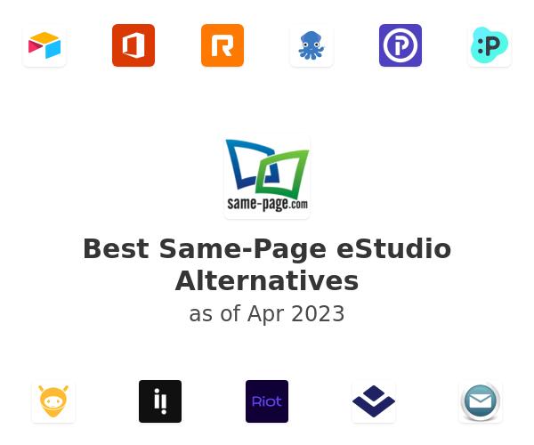 Best Same-Page eStudio Alternatives