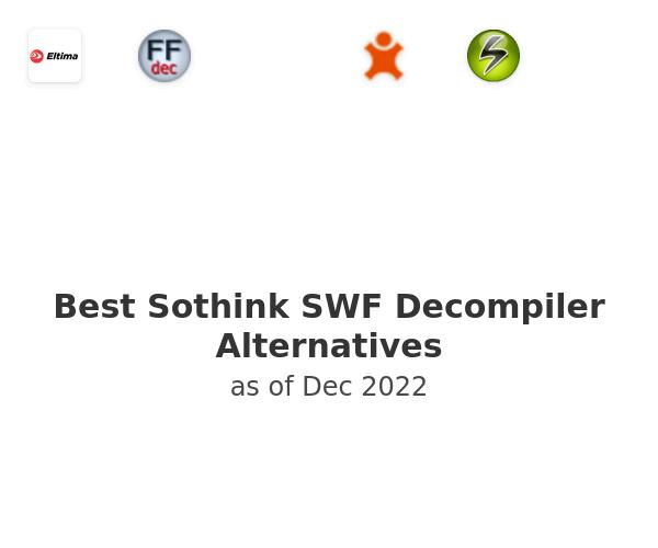 Best Sothink SWF Decompiler Alternatives