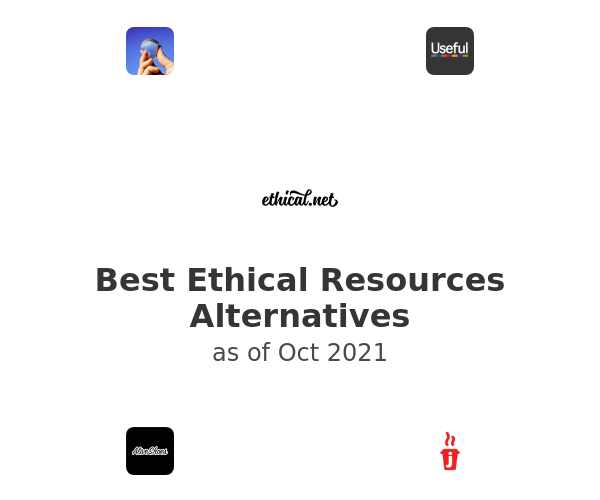 Best Ethical Resources Alternatives