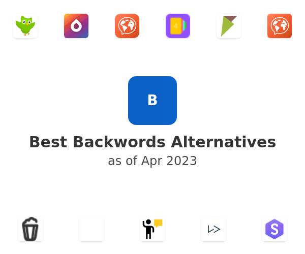 Best Backwords Alternatives