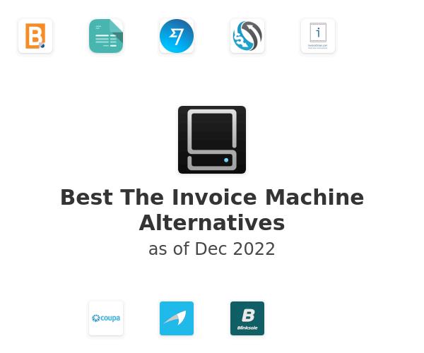 Best The Invoice Machine Alternatives