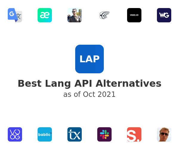 Best Lang API Alternatives