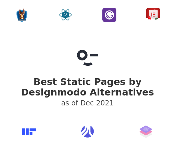 Best Static Pages Alternatives