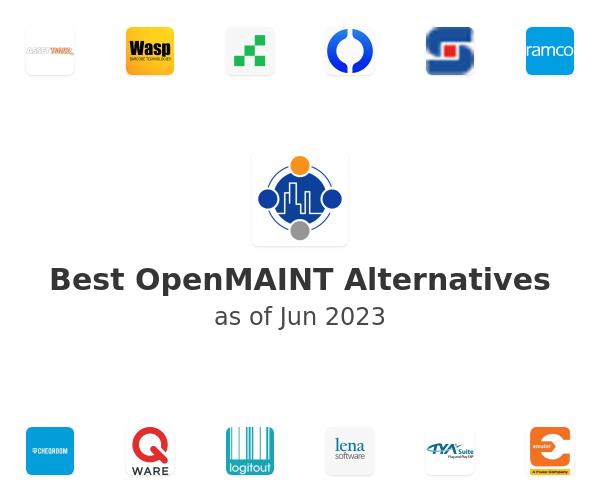 Best OpenMAINT Alternatives