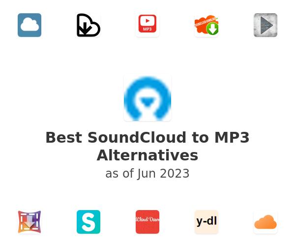 Best SoundCloud to MP3 Alternatives