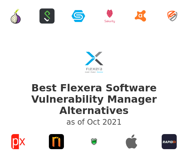 Best Flexera Software Vulnerability Manager Alternatives
