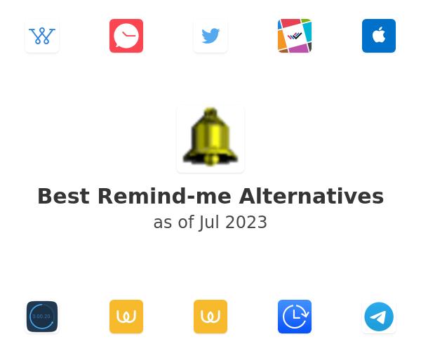 Best Remind-me Alternatives