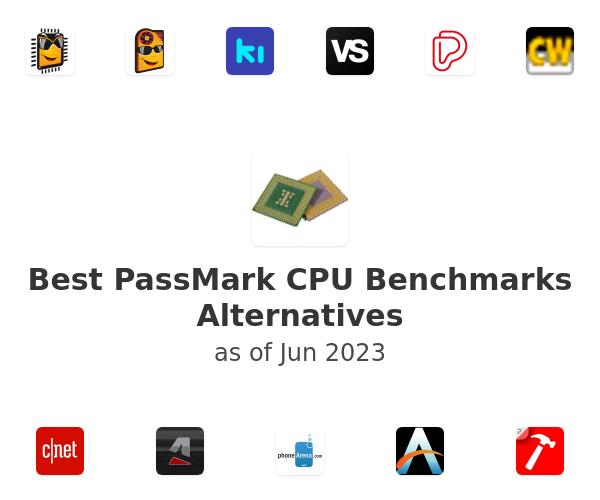 Best PassMark CPU Benchmarks Alternatives