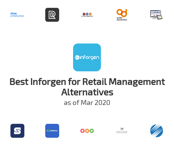 Best Inforgen for Retail Management Alternatives
