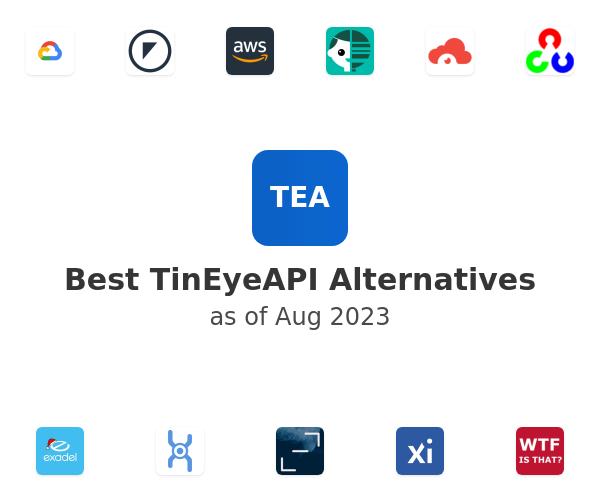 Best TinEyeAPI Alternatives