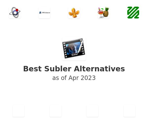 Best Subler Alternatives