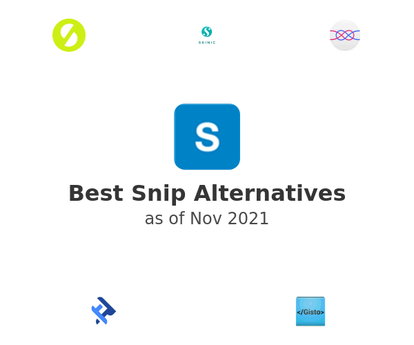 Best Snip Alternatives