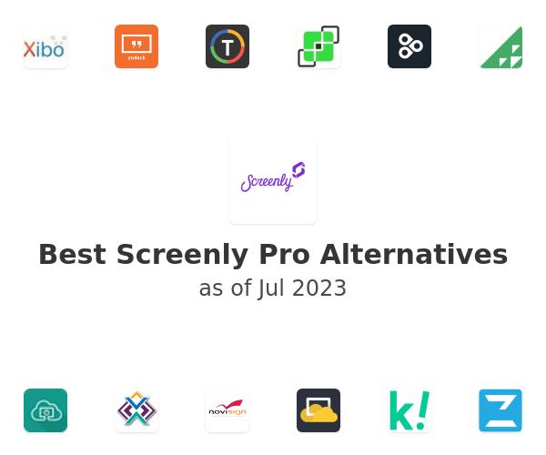 Best Screenly Pro Alternatives